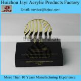 Factory custom wholesale acrylic stand for medals/ medals holder/trophy base