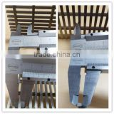 stainless steel 304 316 trench drain floor grates for patio/railway/airport