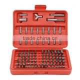 100pcs Screwdriver Bits Set Torx Slotted Phillips Hex Pozidriver Spllne Robertson SPneer Cluth bits Tri-wing Socket Driver Bit