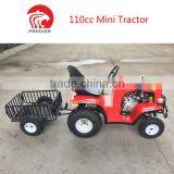 2017 Most popular small size 110cc garden tractor with trailer