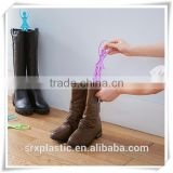 Promotional PINK pp shoe tree racks reactable boot and shoes rack bracket, living furniture plastic shoe racks