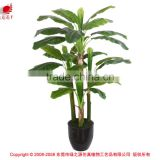 artificial bonsai bonana tree for sale factory direct indoor tropical plants