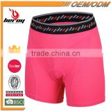 BEROY Anti-Bacterial Women Underwear for Cycling, Cycling Shorts Underpants