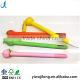 creative cute novel fruit pear peach orange strawberry shape gel pen gift for school kids