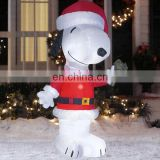 2014 best quality cute outdoor 25ft christmas inflatable santa yard snoop decorations christmas