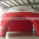 Red and White Coated Nylon or PVC Tarpaulin facet inflatable tent event tent with logo & Inflatable Tent for sale from China Suppliers