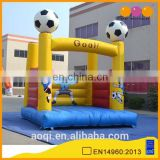 AOQI commercial use football theme inflatable jumping bouncer for sale