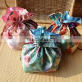 hot selling Japanese small flower coin purse high quality cheap vanilla pouch
