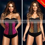 Durable top sell colorful strong body shaper,sexy women latex waist trainer