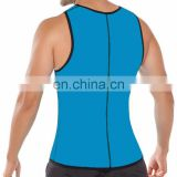Factory price control tummy zipper waist training corsets weight loss