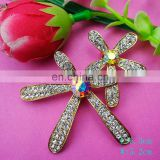 100%QC Bailange rhinestone brooch Wedding Bouquet fashion Rhinestone brooch hijab pins brooches