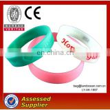 Wedding silicon bracelet silicon wristband
