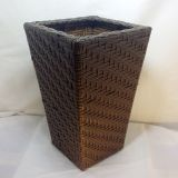 Handmade rattan clothes storage box