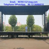 mobile stage truck trailer Used for roadshow