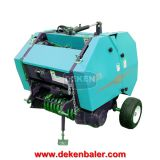 China mini round baler,hay baler,straw baler,baler machine with good price for sale