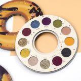 Special Doughnut shape diamond eye shadow 12 color glitter shimmer eyeshadow cosmetics makeup circle eyeshadow palette