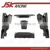 FOR AUDI R8 /2008-2015 P STYLE CARBON FIBER UNDERSCREEN SHIELD (5 PCS) FOR AUDI R8 (JSK031010)