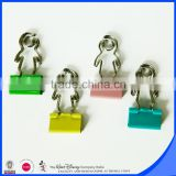 Promotional products human shape binder clip                                                                                                         Supplier's Choice