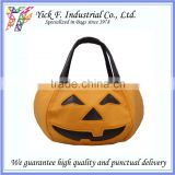 Halloween Pumpkin Shape Felt Children Bag