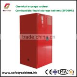 SAFOO combustible safety cabinet with Double wall construction