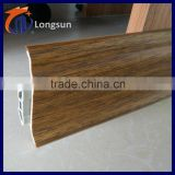 Vinyl flooring tile pvc skirting board trim