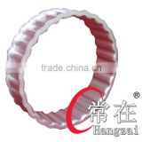 Wheel spacer band for truck/trailer 20-4/22-4 wave type