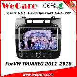 Wecaro WC-VT8009 Android 4.4.4 car dvd player touch screen for volkswagen touareg car multimedia player android A9