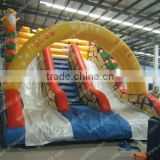 PVC inflatable snowwhite water slide for children and adult, water park amusement water slide cheap used water slide for sale