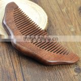 Half Moon Shaped Toothed Healthy Hair Care Sandal Wood Comb
