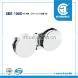 SKB-100D double side glass door lock , Folding cabinet glass door walls hinges in South America