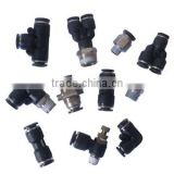 quick pneumatic connector plastic pneumatic fitting;push in fittings;one touch fittings;tube connector