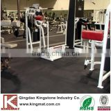 Covers for gym mats in any home or small business gym rubber flooring