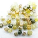 Natural Loose Congo Cube Rough Diamonds selecting different