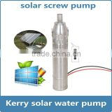 deep well solar water pumping machine system farm irrigation agricultural water pump machine