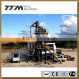 64t/h stationary asphalt mixing plant, asphalt batching machinery