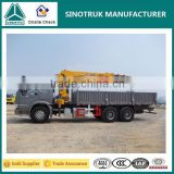 Factory supply--- China top brand SINOTRUK& XCMG telescopic boom truck mounted crane for sale