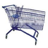 Dachang Factory Shopping Trolley 90/100/130/180 Litre Powder coating or Chrome Plating with baby chair