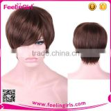 2016 Wholesale high quality short synthetic wig for girl                                                                         Quality Choice