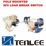 pole mounted load break switch