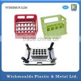plastic injection 24 bottles beer crate mould