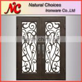 Popular design wrought iron front door design                                                                         Quality Choice