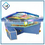 Coin Operated Machine 3 Players Mini Fish Game Air Hockey Table For Sale