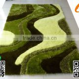 Home rug Multi-Structure 100%Polyeter 3D shaggy carpet