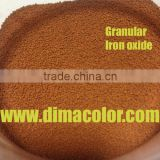 GRANULAR BEAD IRON OXIDE ORANGE G960 FOR PAINT COATING