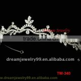 fashion tall pageant crown tiara