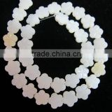 Unique Shape White Shell Beads Flower Shape Beads