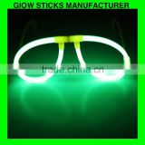 Glow glasses chemical glow eyeglasses glowing from chemical liquid glow stick