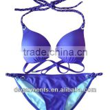 weave strings purple brazilian bikini cut swimwearbottoms for womens,ladies