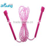 2016 wholesale alibaba online shopping adjusted colorful PVC jump rope for training programs & sports training