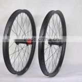29er plus 50mm wide carbon wheels mtb wheels 32*32h chosen hub 12*197 rear with 15*150mm front hub DT champion spokes